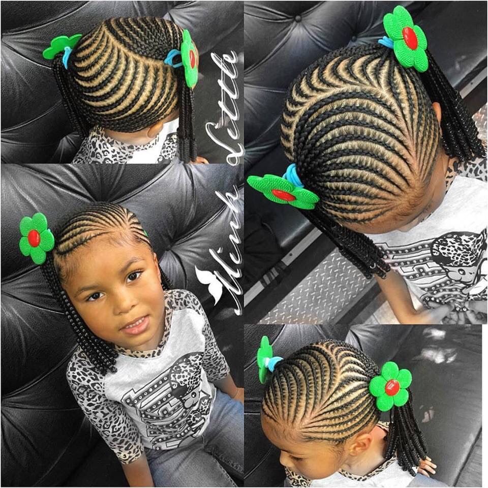 Best ideas about Hairstyle Braids For Little Girls . Save or Pin Little girl braiding styles teamnatural Now.