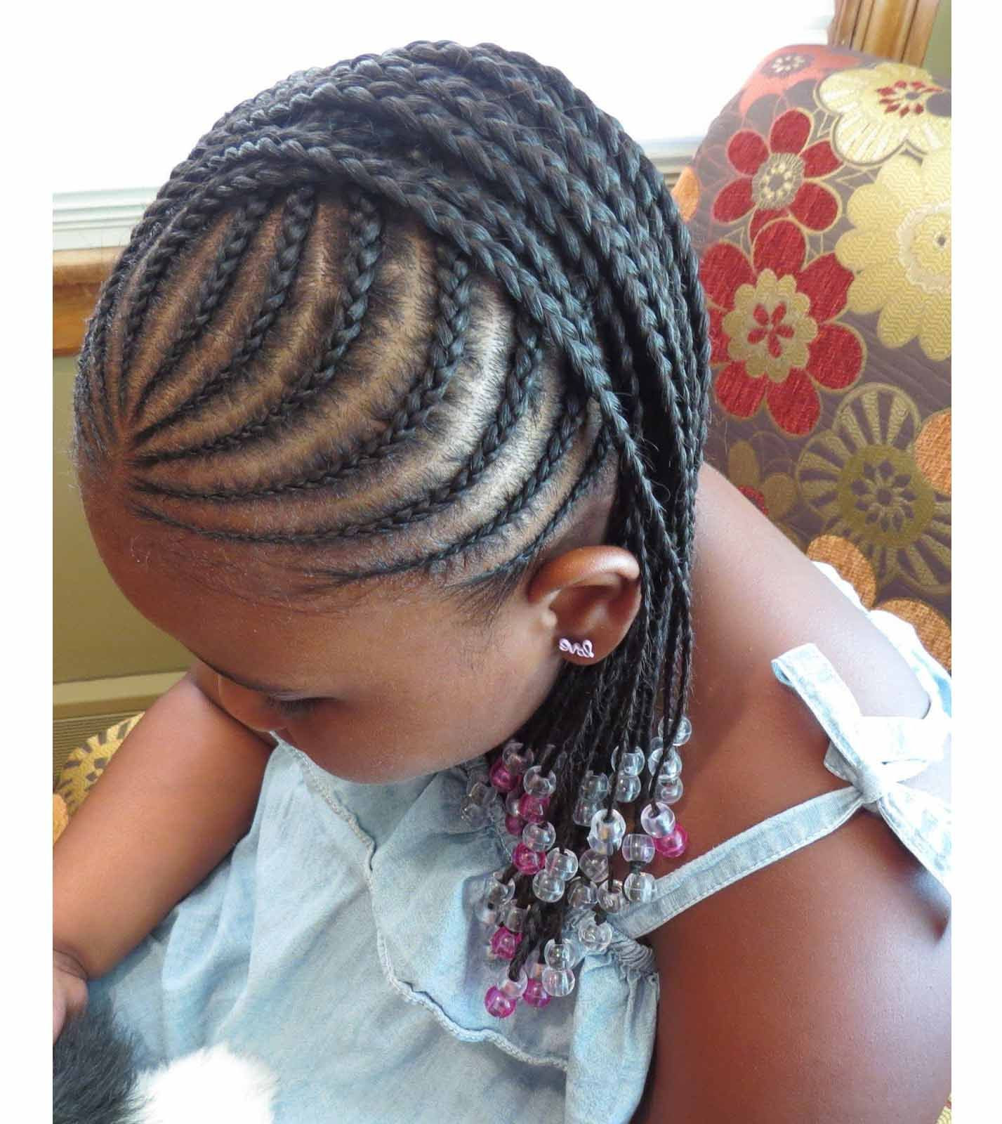 Best ideas about Hairstyle Braids For Little Girls . Save or Pin Braided hairstyles for little black girls with different Now.