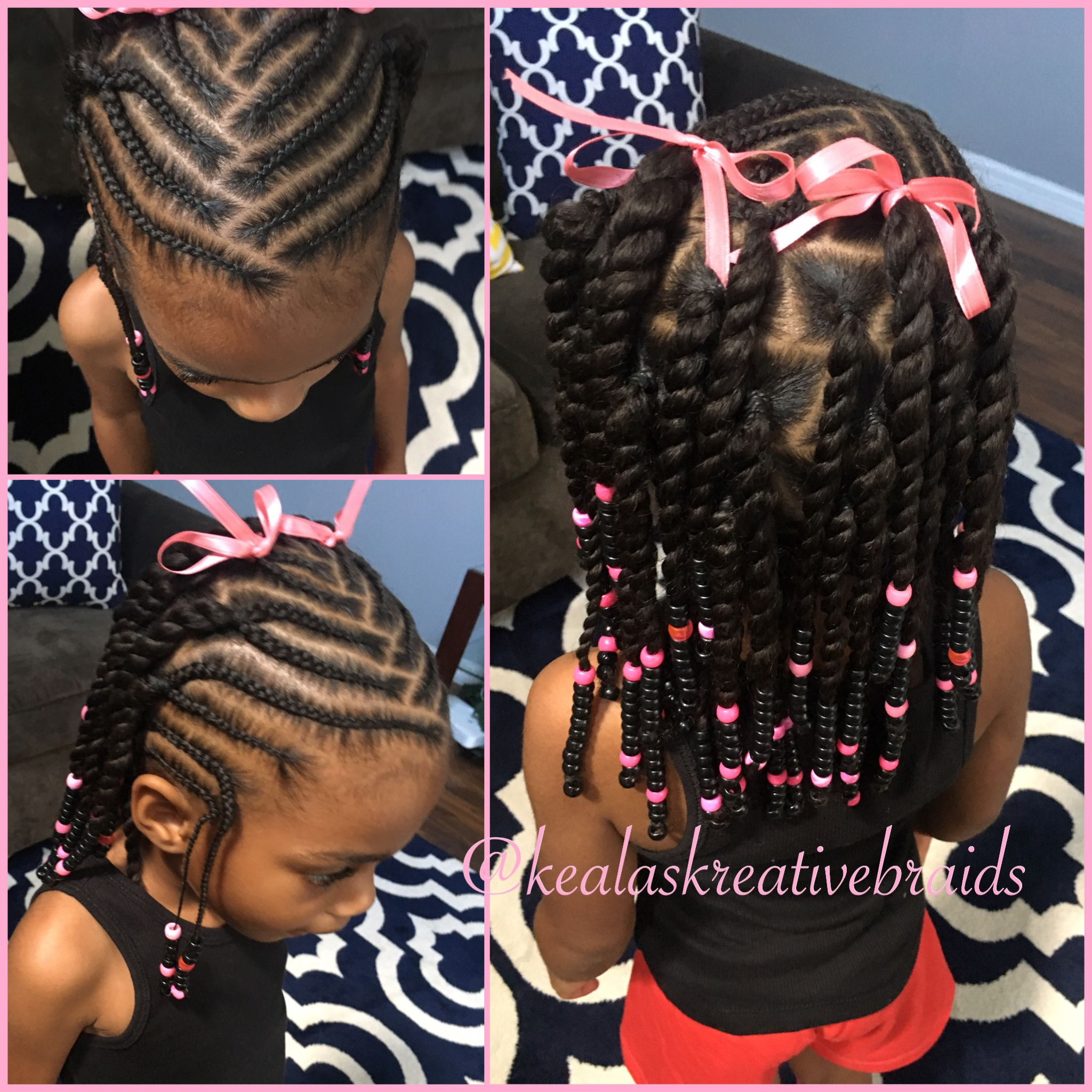 Best ideas about Hairstyle Braids For Little Girls . Save or Pin Little Girl Hairstyle Beads and Braids Now.