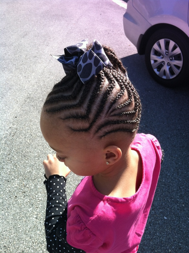 Best ideas about Hairstyle Braids For Little Girls . Save or Pin Little girls braid styles Oh she s so precious Now.
