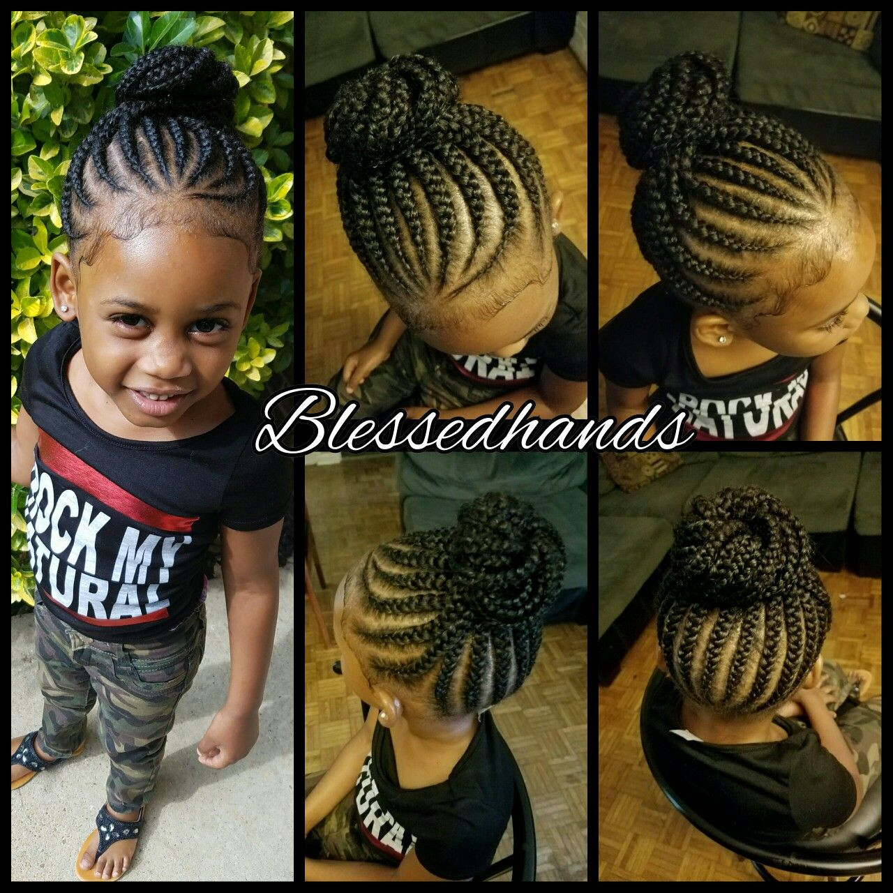 Best ideas about Hairstyle Braids For Little Girls . Save or Pin Little girls feedin braids by divawithhustle Now.