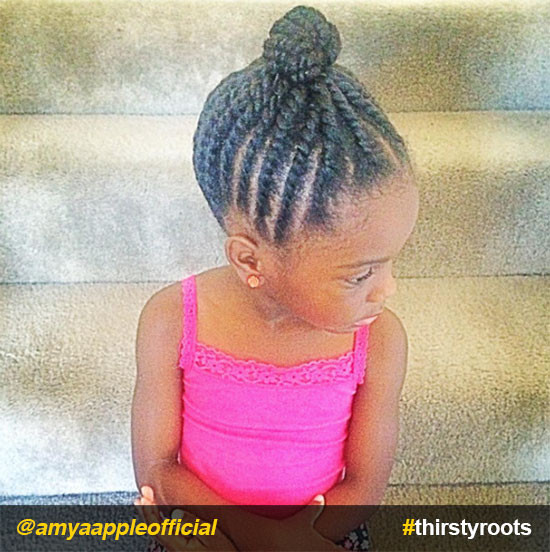 Best ideas about Hairstyle Braids For Little Girls . Save or Pin 20 Cute Natural Hairstyles for Little Girls Now.