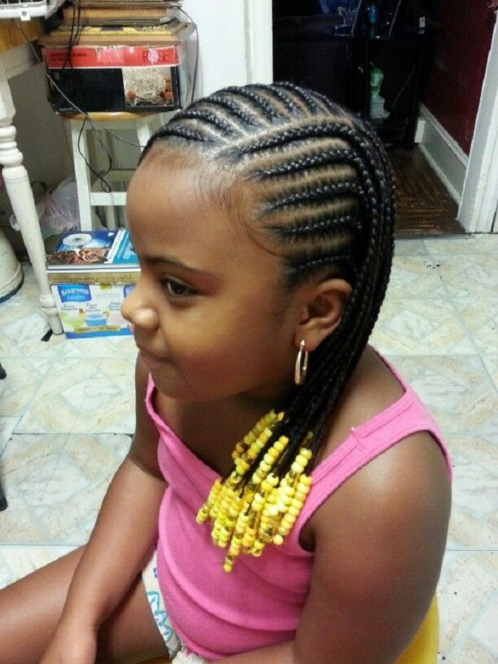 Best ideas about Hairstyle Braids For Little Girls . Save or Pin large cornrows styles for little girls Now.