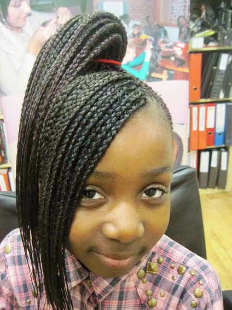 Best ideas about Hairstyle Braids For Little Girls . Save or Pin 64 Cool Braided Hairstyles for Little Black Girls – HAIRSTYLES Now.