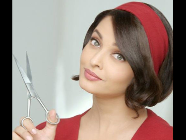 Best ideas about Hairstyle Commercial . Save or Pin Aishwarya Rai s New Bob Hairstyle For mercial Boldsky Now.