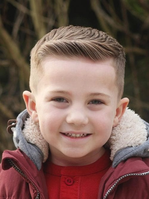 Best ideas about Hairstyle For Boy Kids . Save or Pin 50 Cute Toddler Boy Haircuts Your Kids will Love Now.
