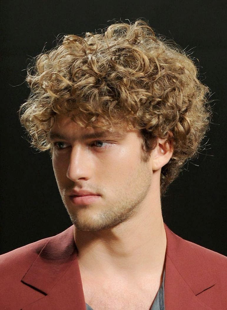 Best ideas about Hairstyle For Curly Hair Men . Save or Pin Hairstyle 2014 Men s Curly Hairstyles 2014 Now.