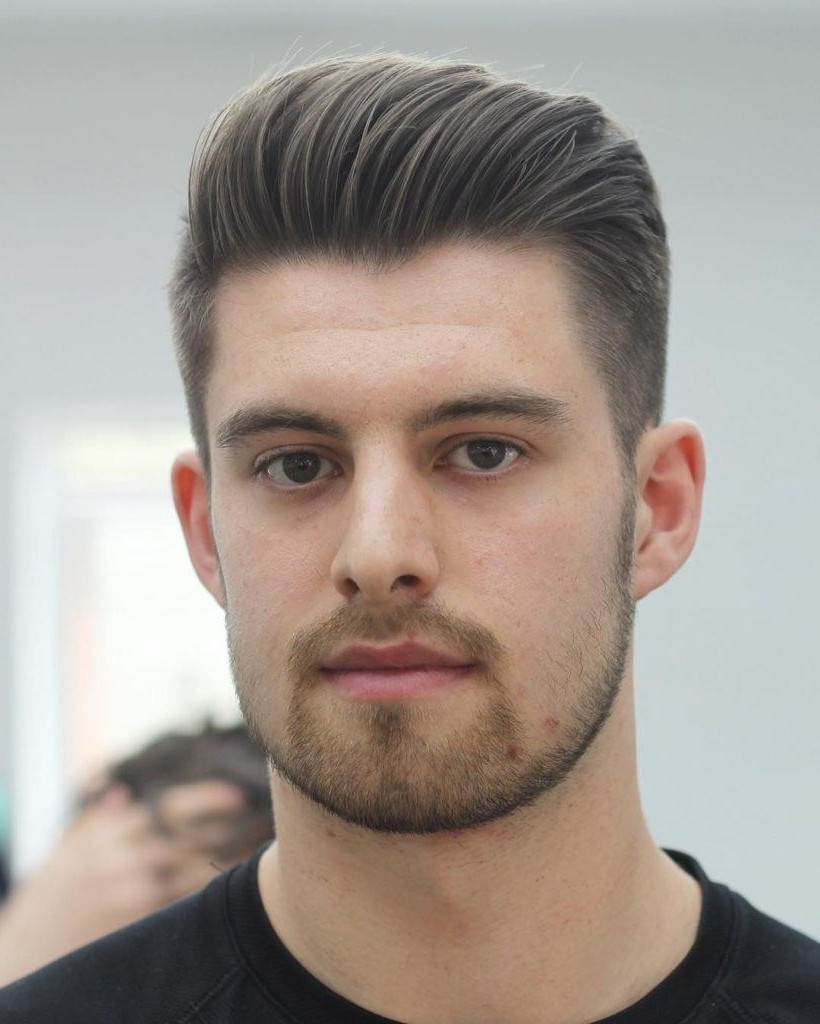 Best ideas about Hairstyle For Oval Face Male . Save or Pin Hairstyles Men Oval Face Now.