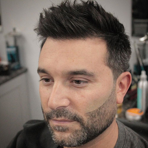 Best ideas about Hairstyle For Round Face Male . Save or Pin 25 Best Haircuts for Guys with Round Faces 2019 Guide Now.