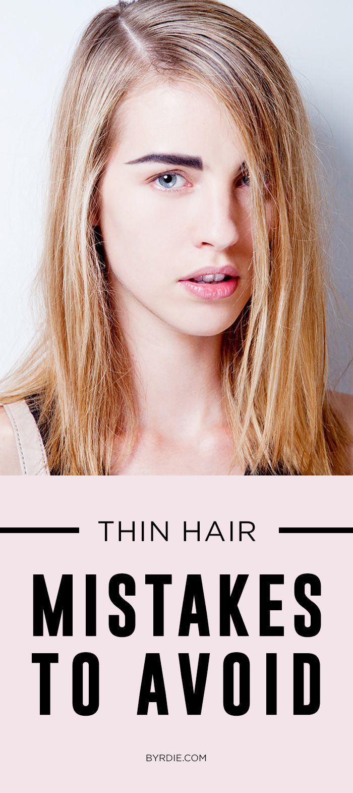 Best ideas about Hairstyle For Thinning Hair Female . Save or Pin 1000 ideas about Hairstyles Thin Hair on Pinterest Now.