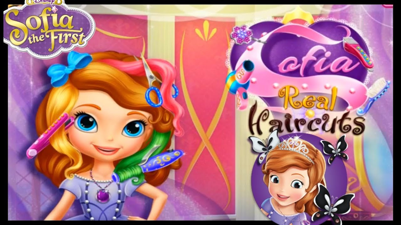 Best ideas about Hairstyle Games For Kids . Save or Pin Sofia The First Real Haircut Cute Hairstyle Games For Now.
