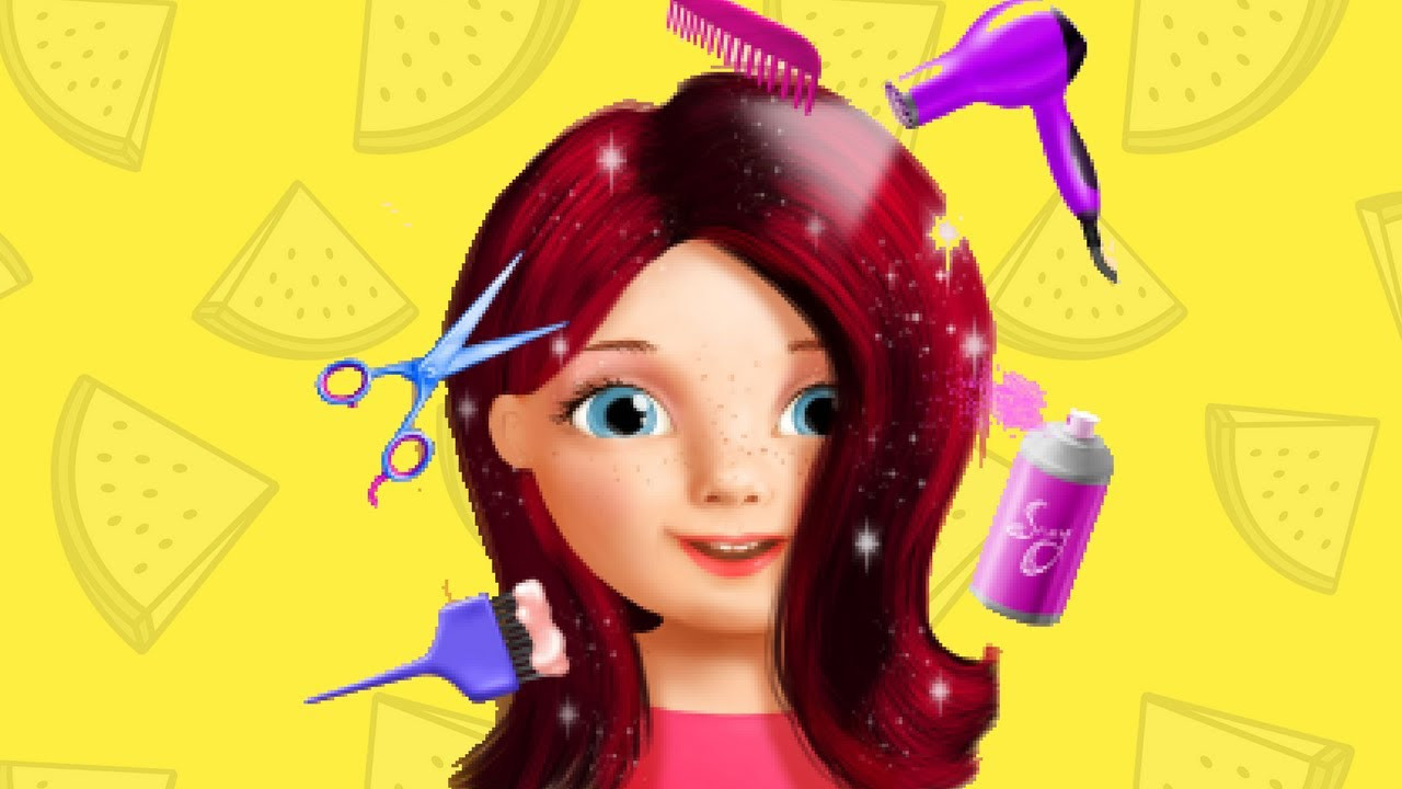 Best ideas about Hairstyle Games For Kids . Save or Pin Baby Girl Beauty Salon Fun & Sweet Dress up Manicure Now.