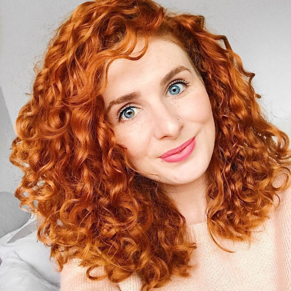 Best ideas about Hairstyle Naturally Curly Hair . Save or Pin 28 Gorgeous Medium Length Curly Hairstyles for Women in 2018 Now.