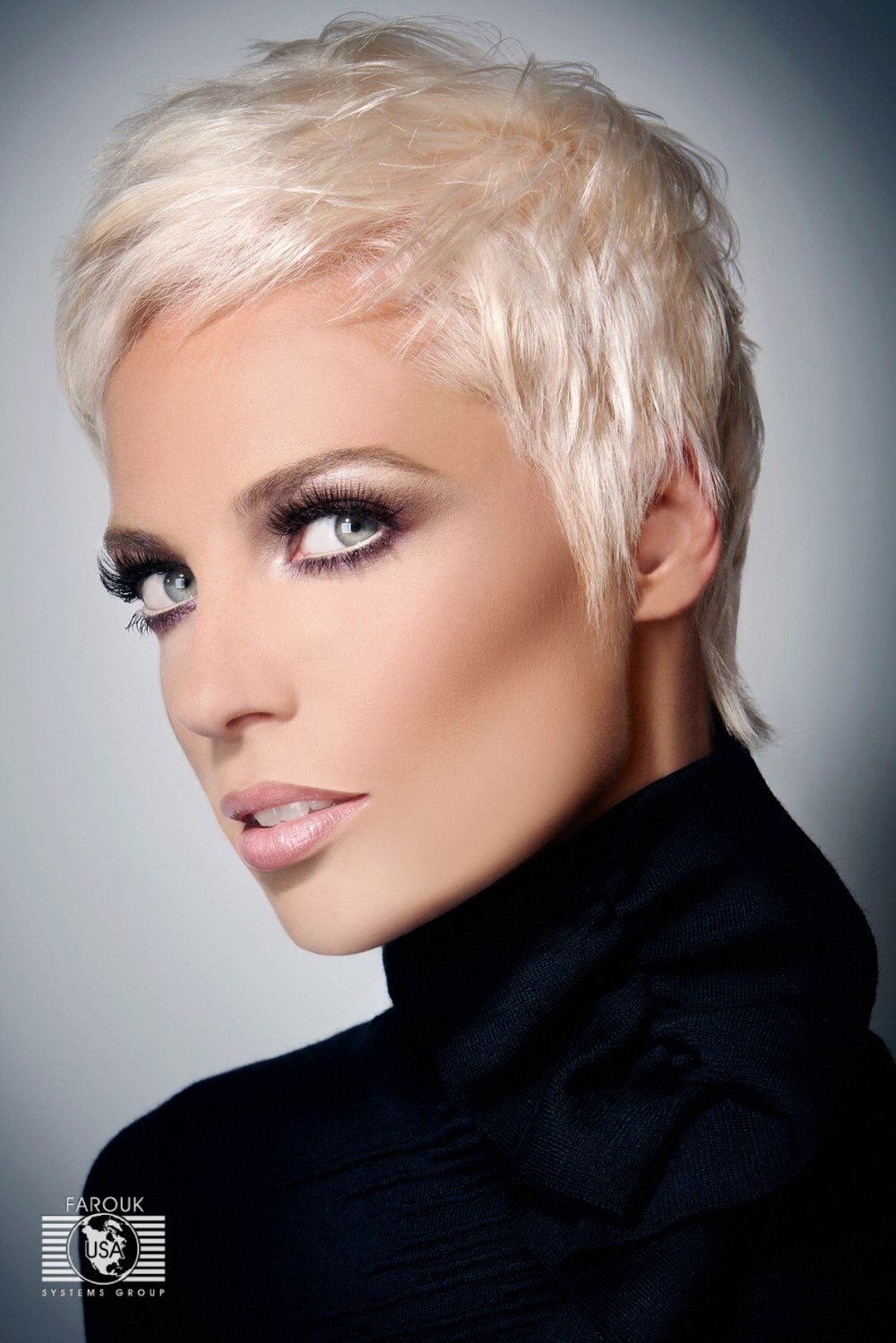 Best ideas about Hairstyle Short Hair . Save or Pin Very short blonde hairstyle Now.