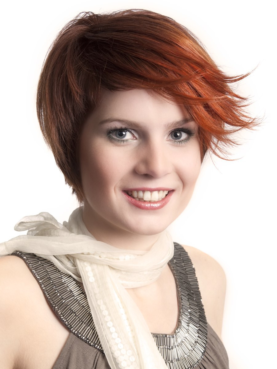 Best ideas about Hairstyle Short Hair . Save or Pin Easy to do at home party hairstyle for short hair Now.