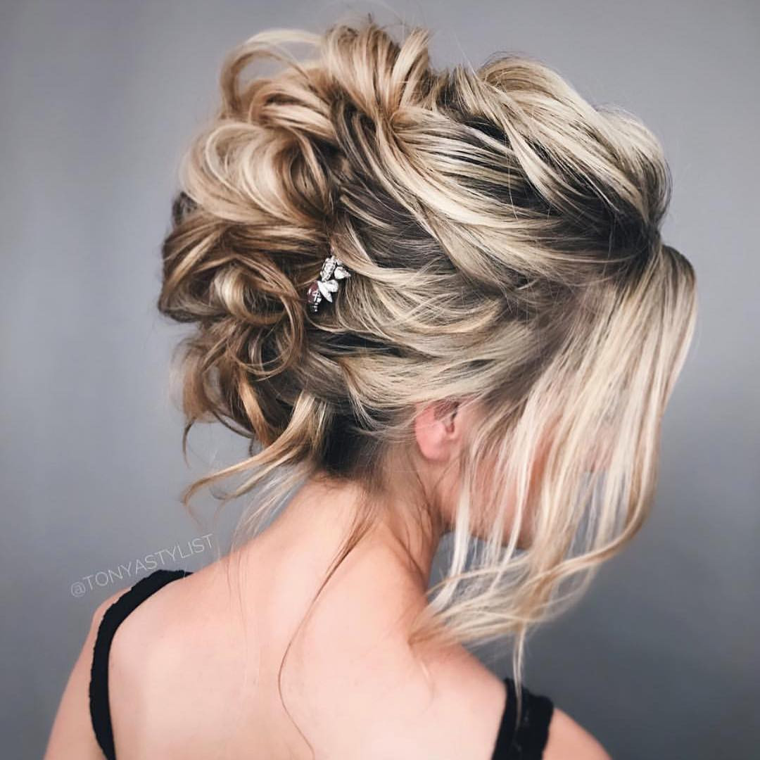 Best ideas about Hairstyle Updo 2019 . Save or Pin 10 New Prom Updo Hair Styles 2019 Gorgeously Creative Now.