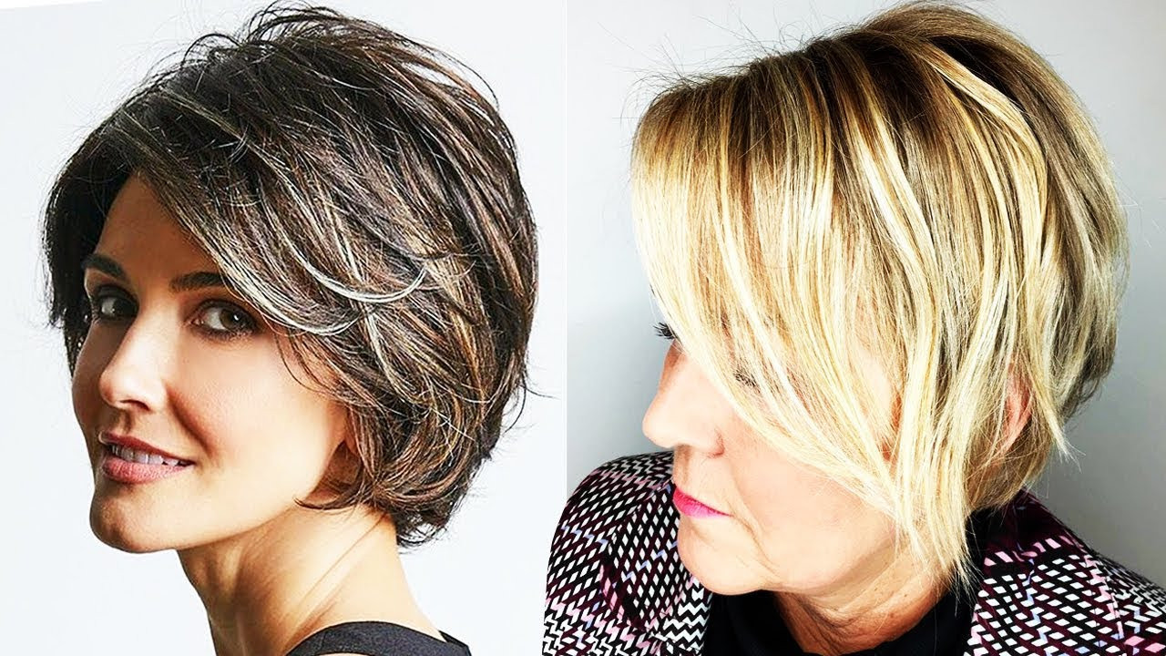 Best ideas about Hairstyles 2019 Female Over 50 . Save or Pin Haircuts for Older Women 2018 2019 Now.