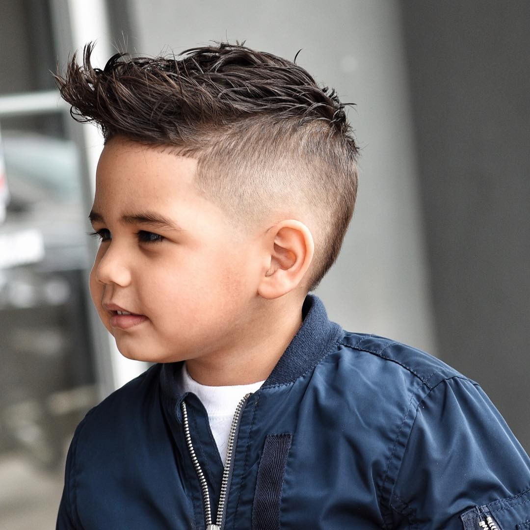 Best ideas about Hairstyles Boys . Save or Pin Best 34 Gorgeous Kids Boys Haircuts for 2019 Now.