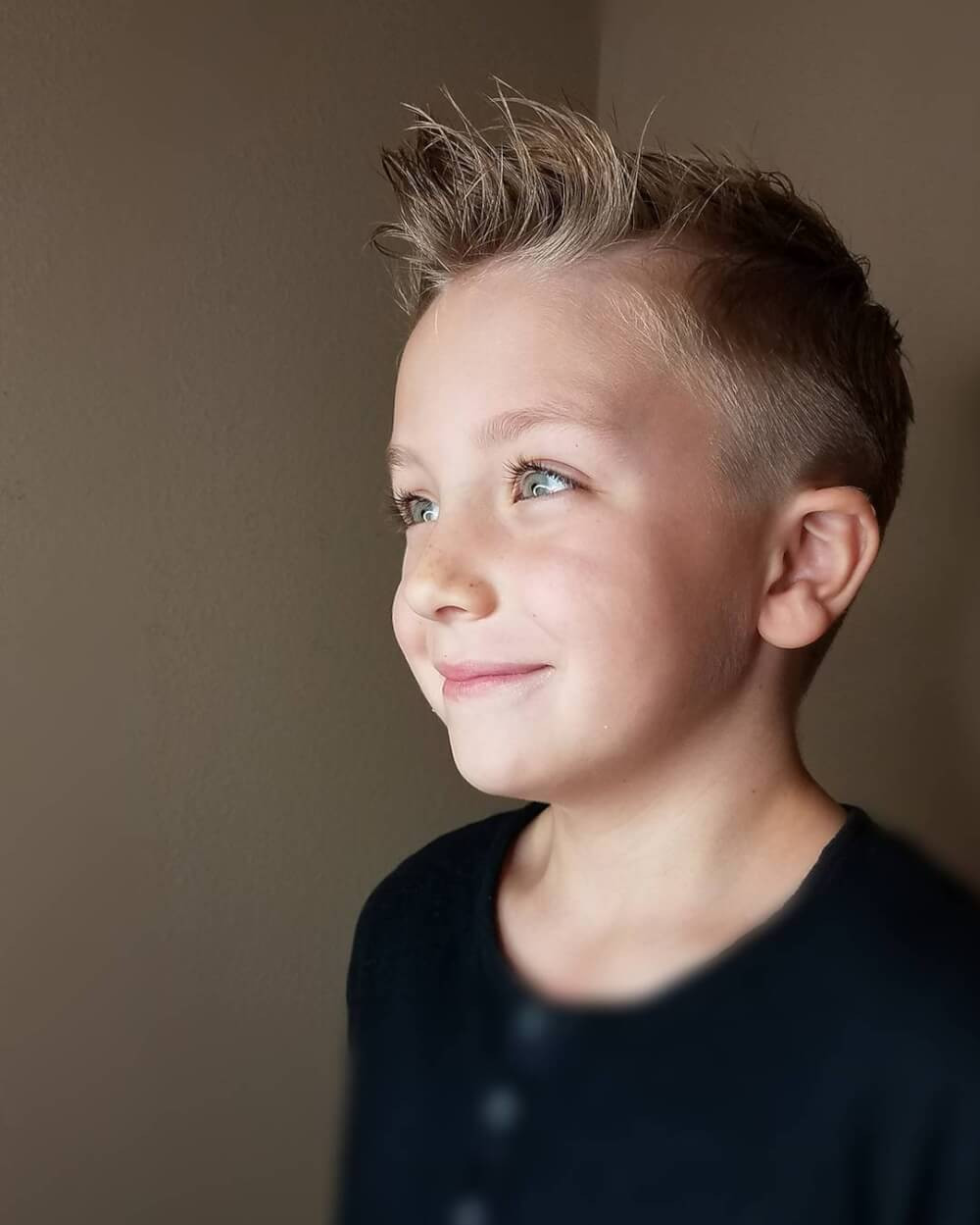 Best ideas about Hairstyles Boys . Save or Pin 31 Cutest Boys Haircuts for 2018 Fades Pomps Lines & More Now.