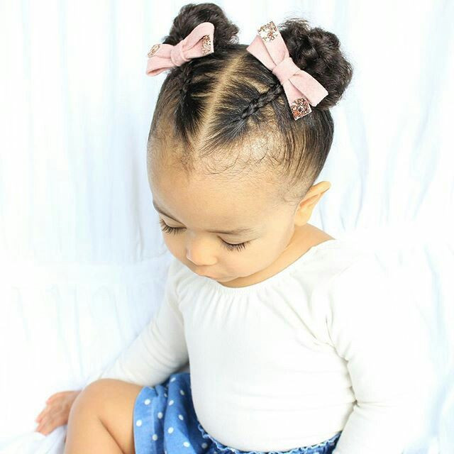 Best ideas about Hairstyles For Baby Girls . Save or Pin 8 Chic Half Up do Hairstyles box braids Now.