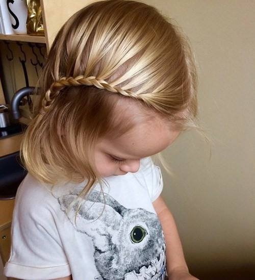 Best ideas about Hairstyles For Baby Girls . Save or Pin 20 Super Sweet Baby Girl Hairstyles Now.