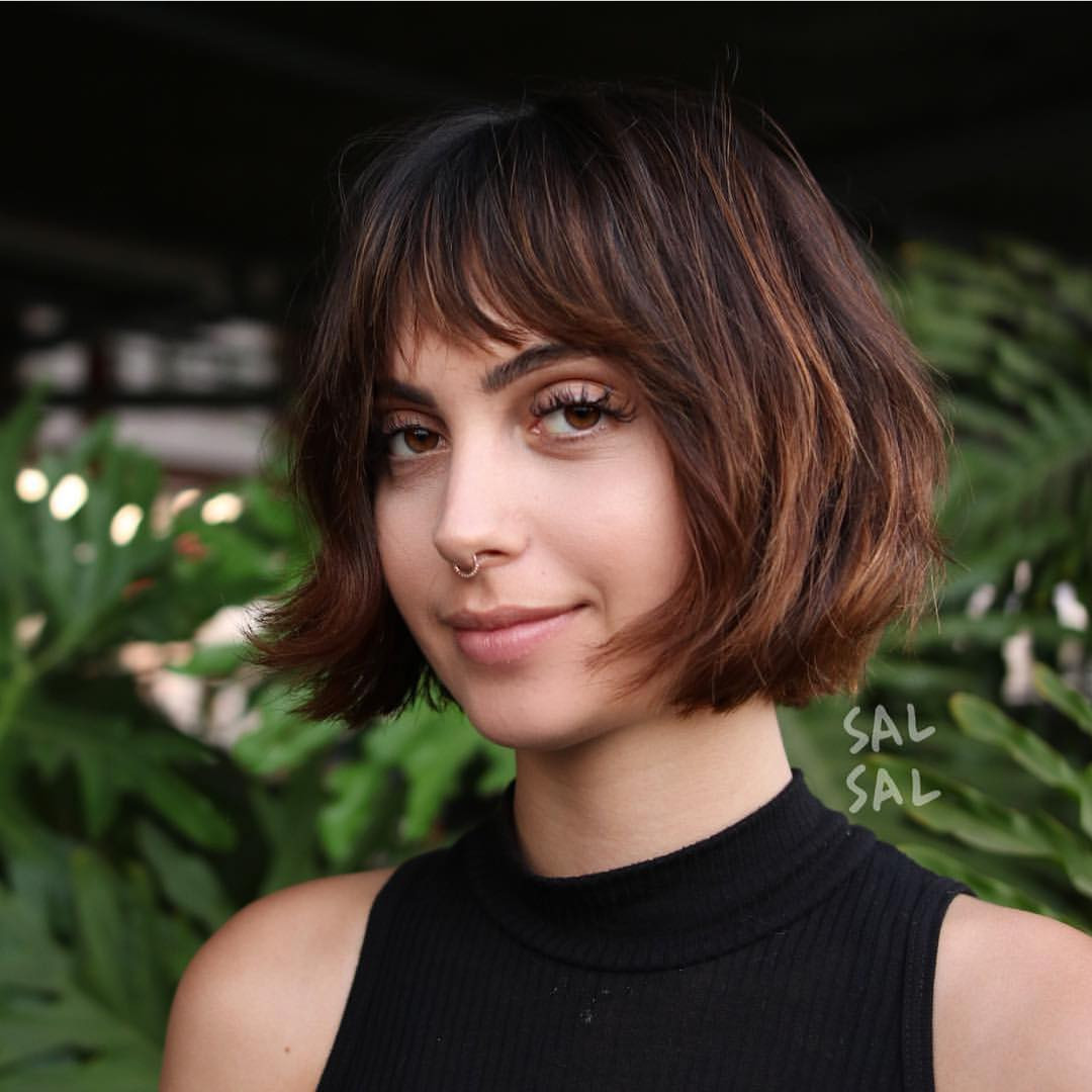 Best ideas about Hairstyles For Bob Cuts . Save or Pin 40 Most Flattering Bob Hairstyles for Round Faces 2019 Now.