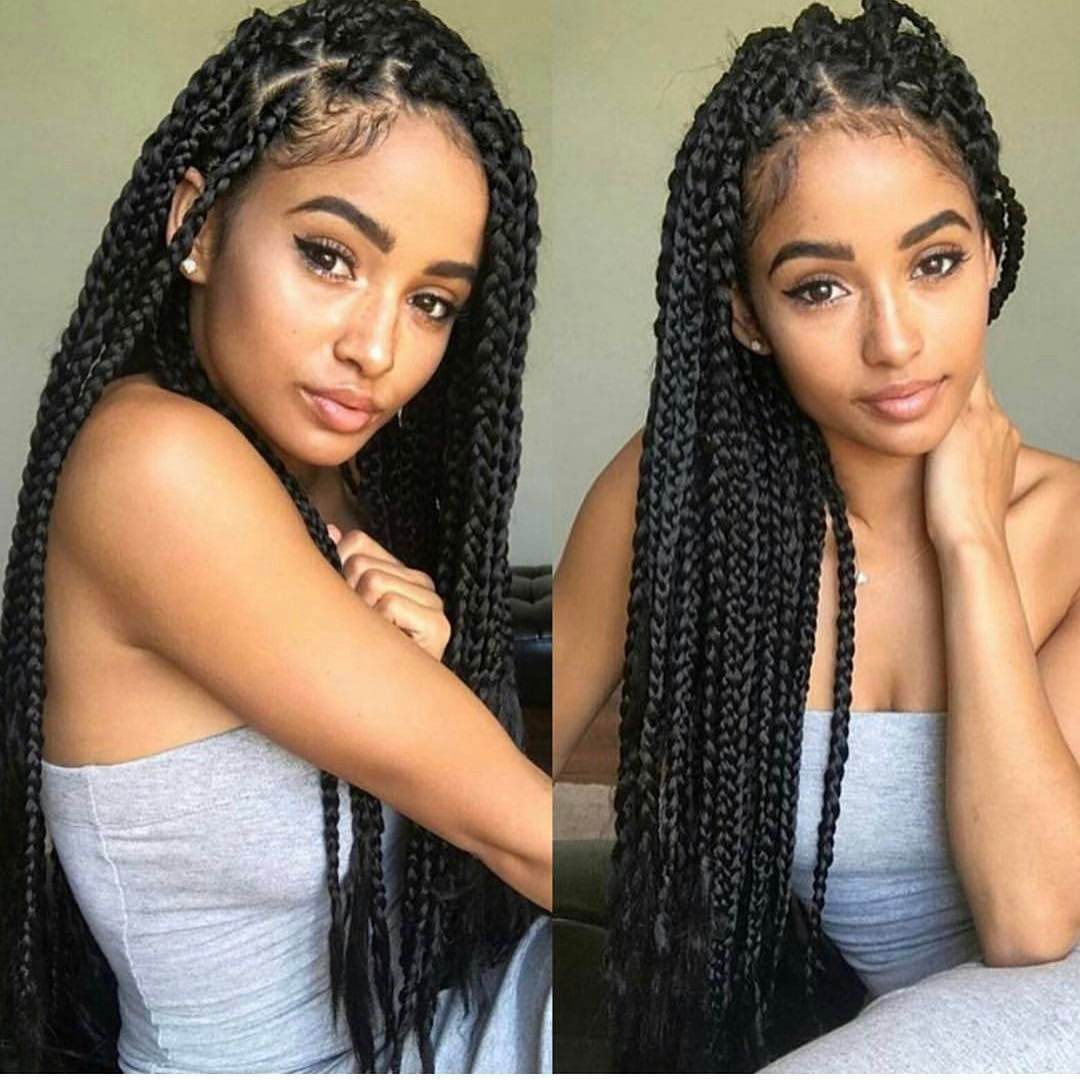 Best ideas about Hairstyles For Box Braids . Save or Pin Box Braids Beauty Hair Beauty • Now.