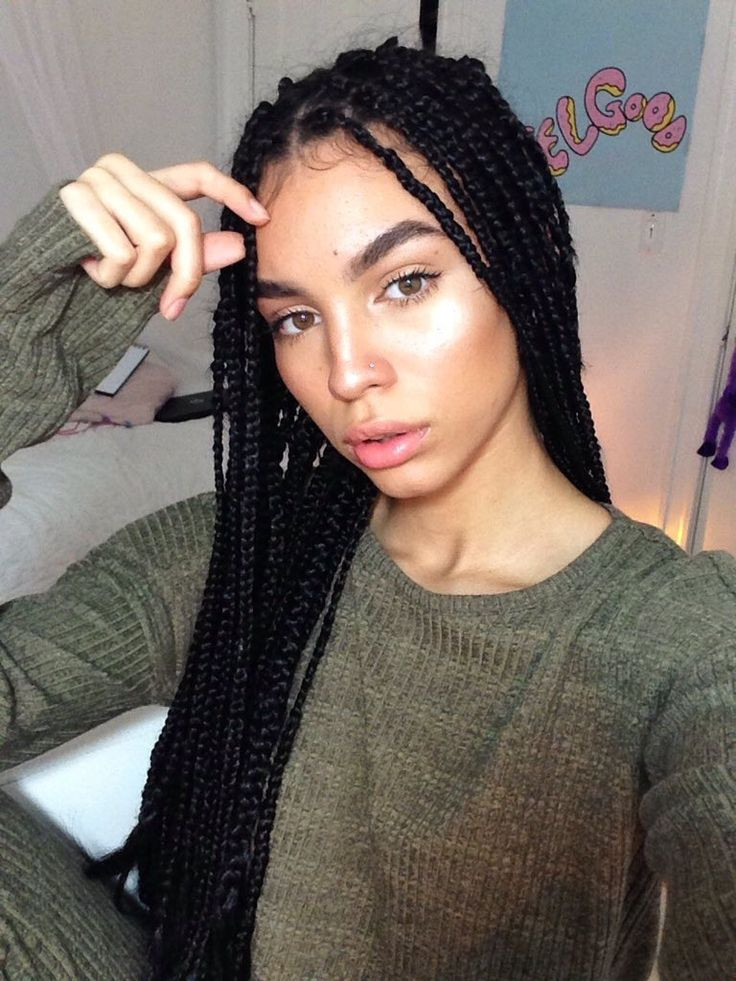 Best ideas about Hairstyles For Box Braids . Save or Pin 25 best Box braids ideas on Pinterest Now.