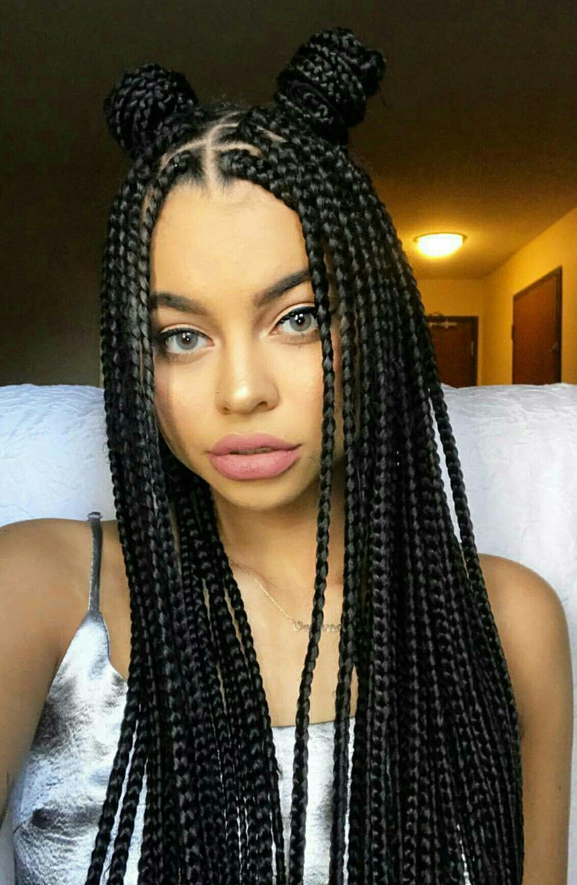 Best ideas about Hairstyles For Box Braids . Save or Pin ¿A quién no le viene Makeup in 2019 Pinterest Now.