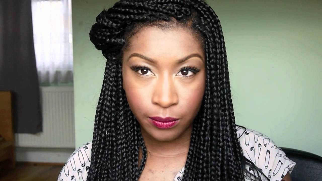 Best ideas about Hairstyles For Box Braids . Save or Pin Box Braids Inspired hairstyles Now.