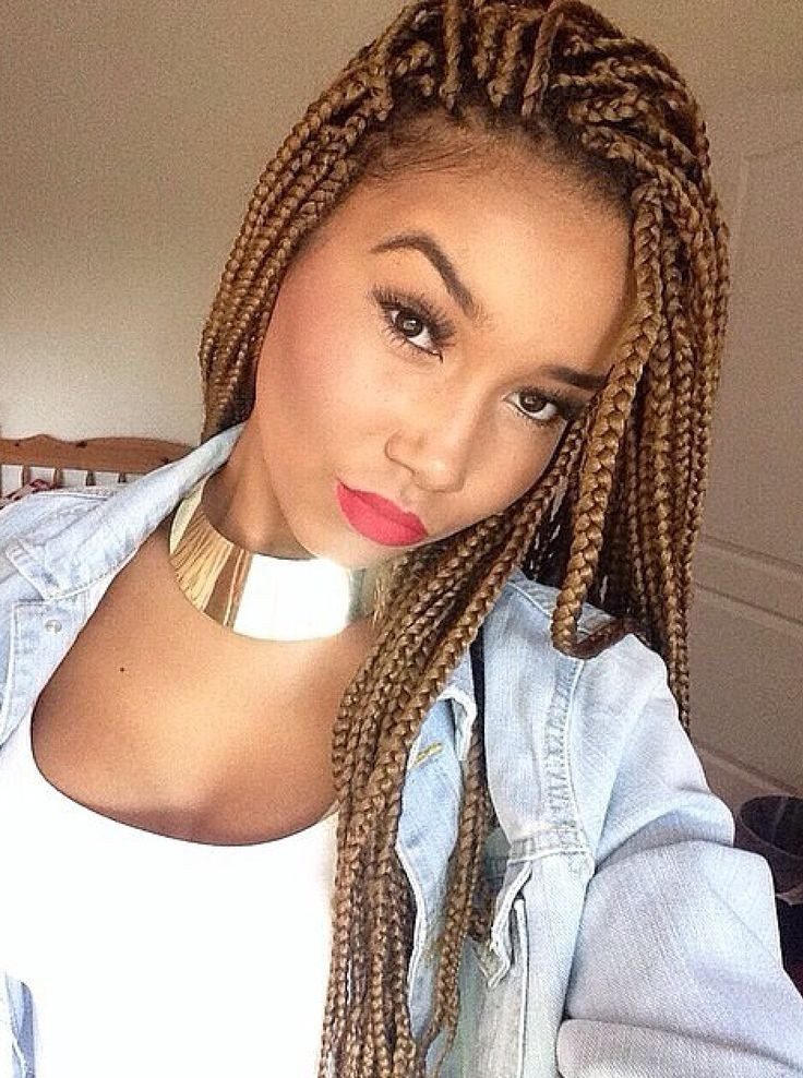 Best ideas about Hairstyles For Box Braids . Save or Pin 65 Box Braids Hairstyles for Black Women Now.