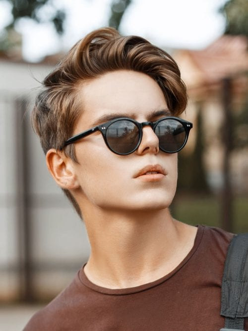 Best ideas about Hairstyles For Boys With Thick Hair . Save or Pin 20 Haircuts for Men With Thick Hair High Volume Now.