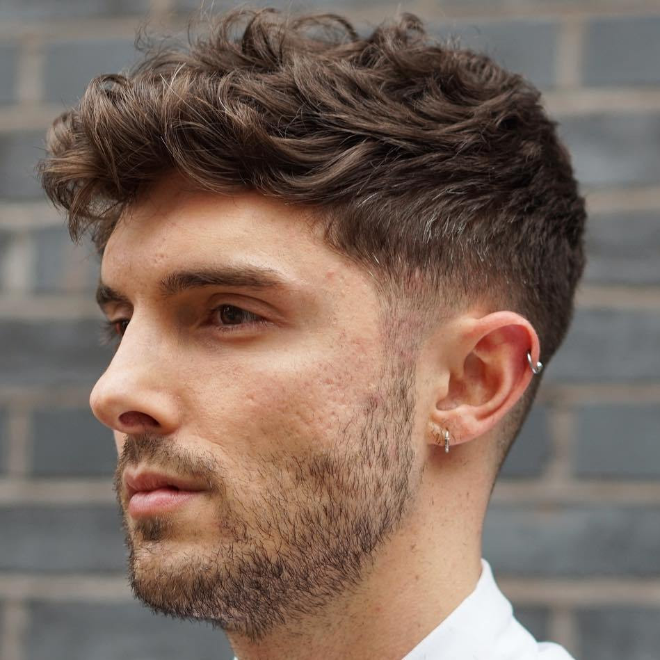 Best ideas about Hairstyles For Boys With Thick Hair . Save or Pin 40 Statement Hairstyles for Men with Thick Hair Now.
