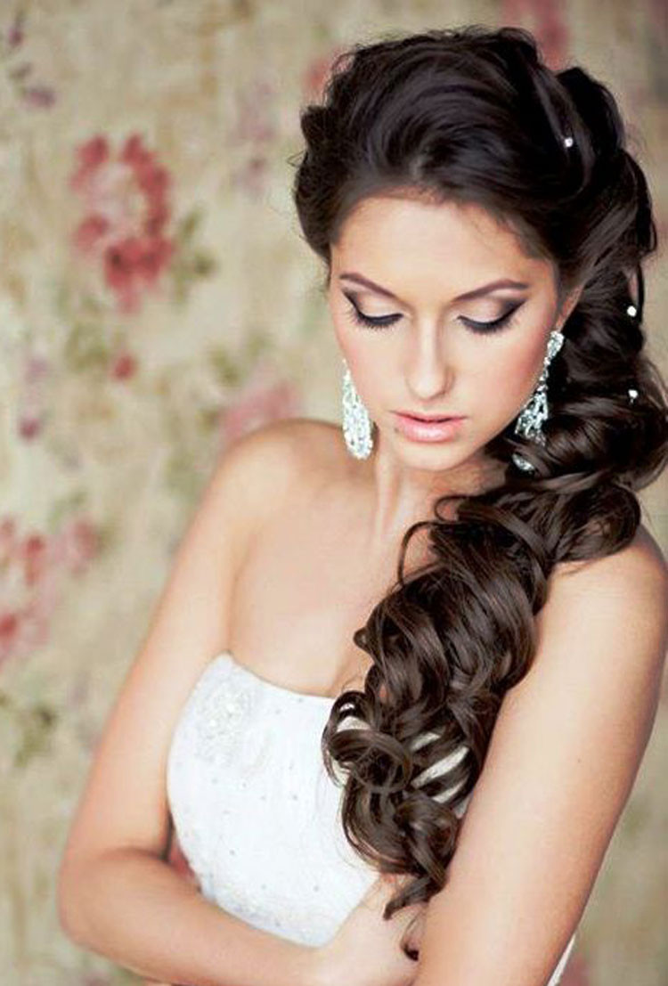 Best ideas about Hairstyles For Long Hair Wedding . Save or Pin Wedding Hairstyles for Long Hair Fave HairStyles Now.