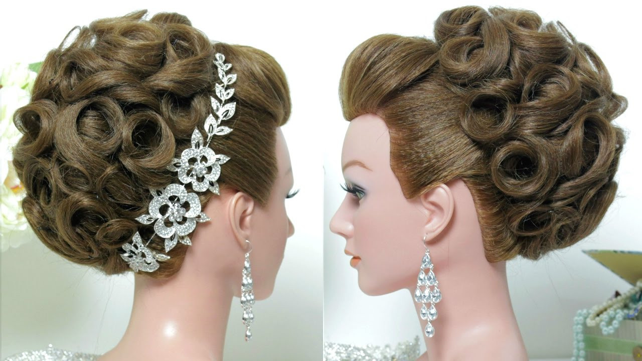 Best ideas about Hairstyles For Long Hair Wedding . Save or Pin Bridal hairstyle Wedding updo for long hair tutorial Now.