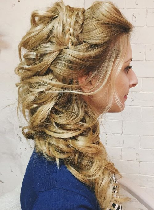 Best ideas about Hairstyles For Long Hair Wedding . Save or Pin 40 Gorgeous Wedding Hairstyles for Long Hair Now.