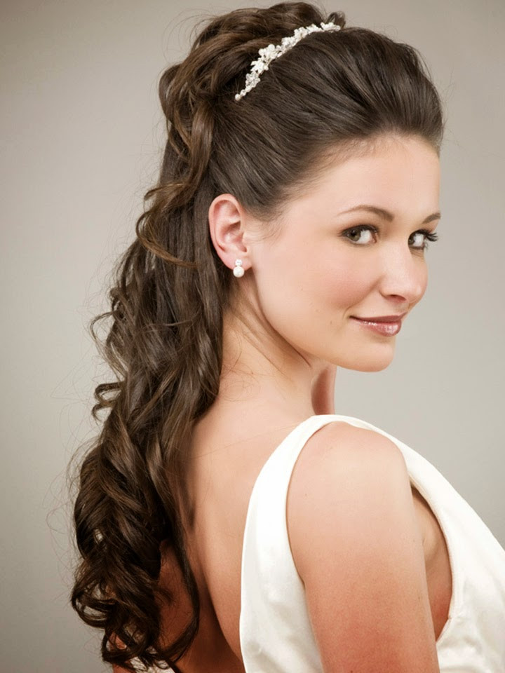 Best ideas about Hairstyles For Long Hair Wedding . Save or Pin Beautiful Wedding Hairstyles For Long Hair Mens Now.