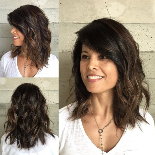 Best ideas about Hairstyles For Medium Length Wavy Hair . Save or Pin 80 Sensational Medium Length Haircuts for Thick Hair in 2019 Now.
