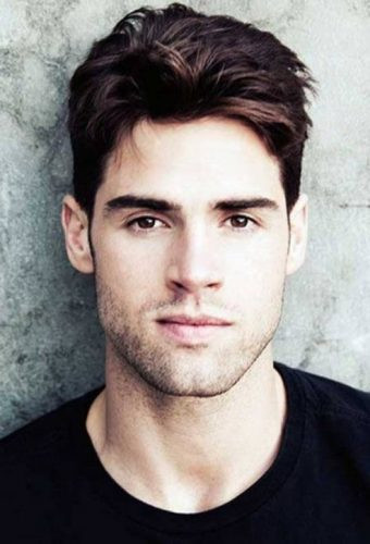 Best ideas about Hairstyles For Men With Long Faces . Save or Pin Best Hairstyles for Men Long Face & Tall Forehead Now.