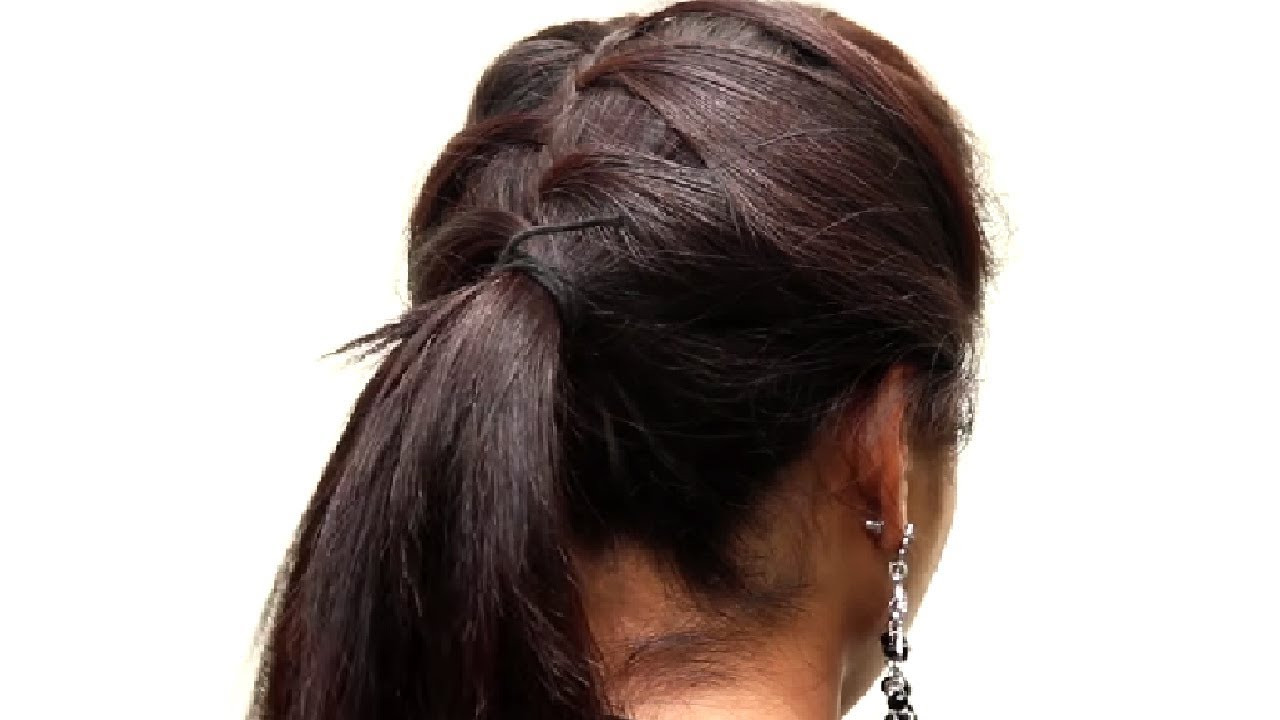 Best ideas about Hairstyles For School Girls . Save or Pin 5 Different hairstyle for School Girls Now.