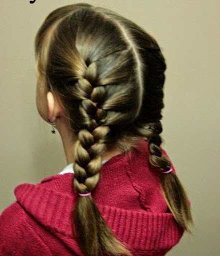 Best ideas about Hairstyles For School Girls . Save or Pin 30 Easy Cute Hairstyles For School Girls Be With Style Now.