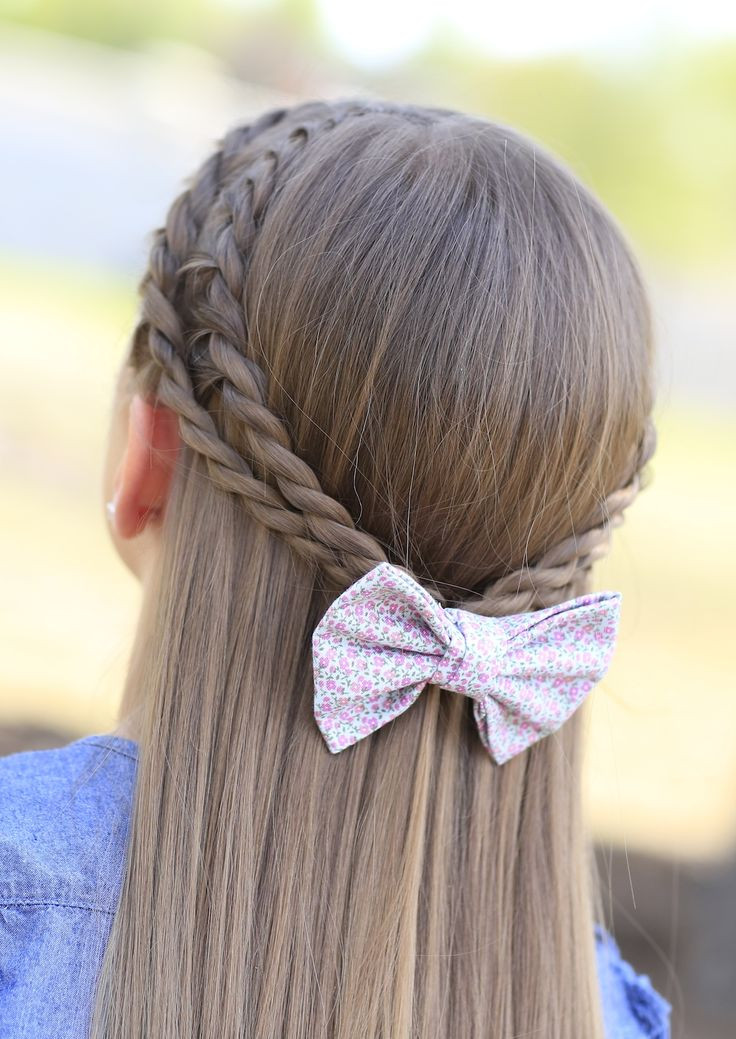 Best ideas about Hairstyles For School Girls . Save or Pin 18 Cute Hairstyles for School Girls New Styles And Tips Now.