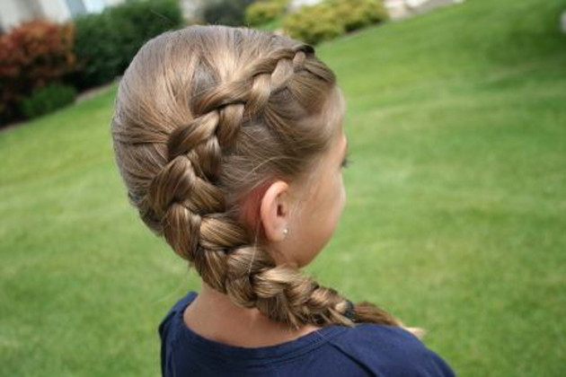 Best ideas about Hairstyles For School Girls . Save or Pin How to Style Little Girls Hair Cute Long Now.
