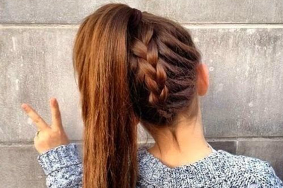 Best ideas about Hairstyles For School Girls . Save or Pin 15 Hairstyles for High School Girls Now.