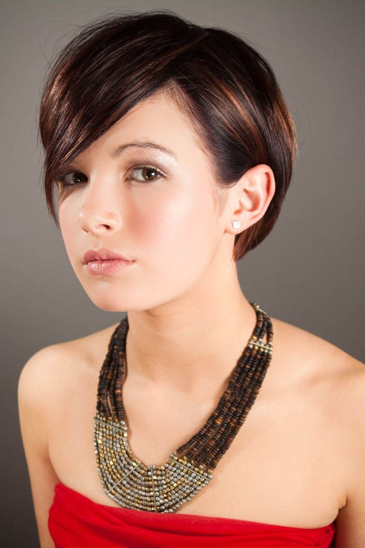 Best ideas about Hairstyles For Short Hair For Girls . Save or Pin 25 Beautiful Short Hairstyles for Girls Feed Inspiration Now.