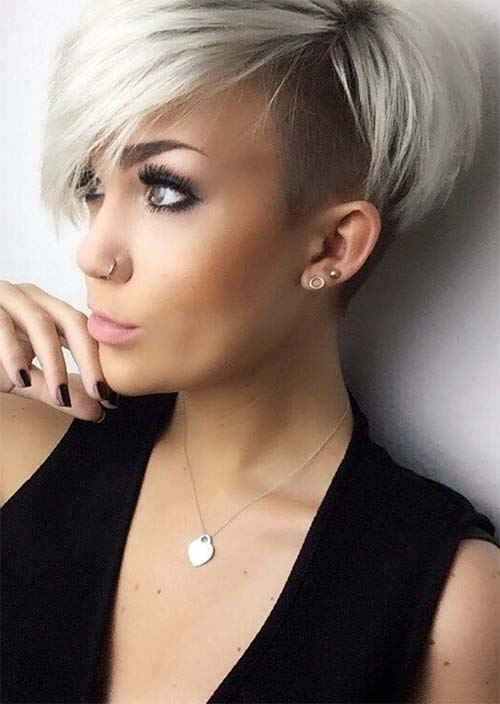 Best ideas about Hairstyles For Short Hair For Girls . Save or Pin 51 Edgy and Rad Short Undercut Hairstyles for Women Glowsly Now.
