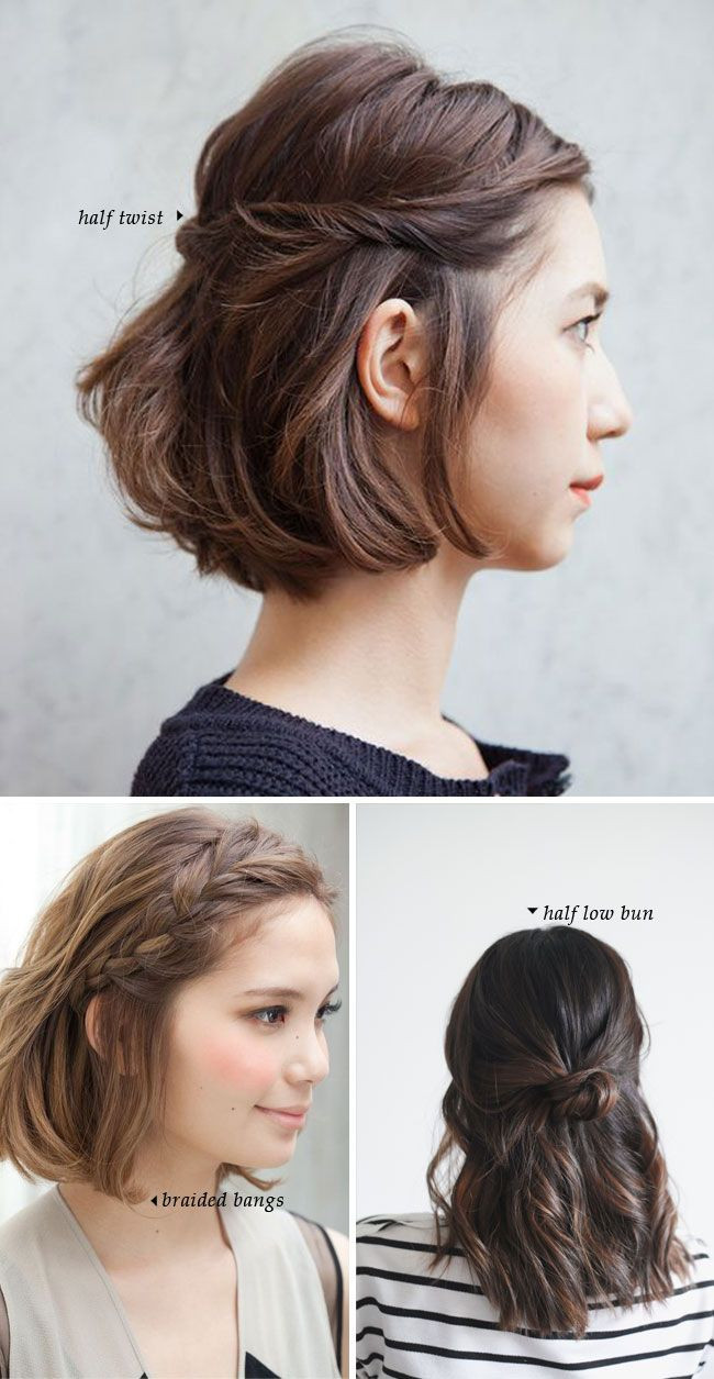 Best ideas about Hairstyles For Short Hair For Girls . Save or Pin Best 25 Easy short hairstyles ideas on Pinterest Now.