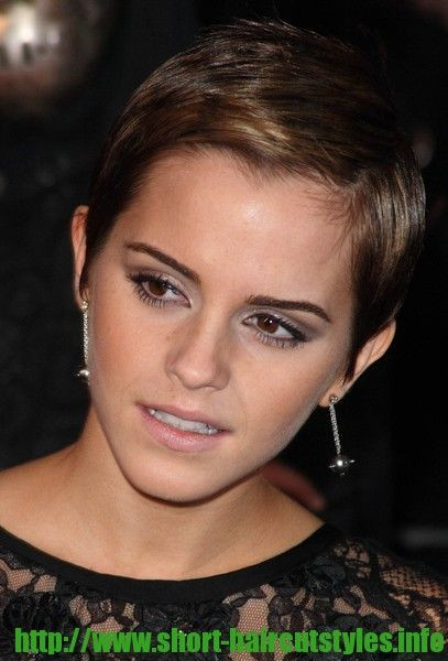 Best ideas about Hairstyles For Widows Peak Female . Save or Pin My favorite emma watson pixie pic Shows the natural Now.