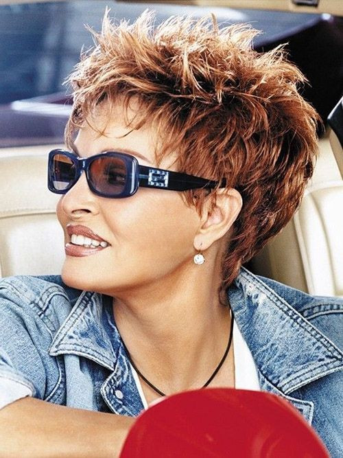 Best ideas about Hairstyles For Women With Short Hair . Save or Pin Short Spiky Sassy Hairstyles hair styles Now.