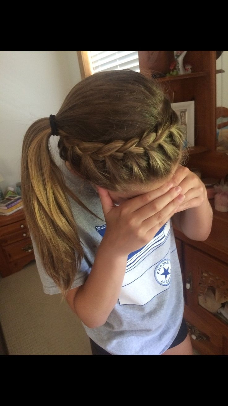 Best ideas about Hairstyles Game For Girls . Save or Pin Cute Basketball Hairstyles Now.